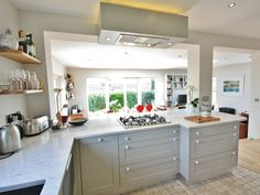 Modern Country Kitchen Design In Wicklow Ireland By