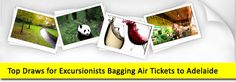 Top Draws for Excursionists Bagging Air Tickets to Adelaide
