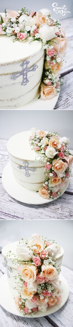 Semi Naked Cakes Ruled 2017 Teamed With Fresh Blooms It Is A Timeless Design