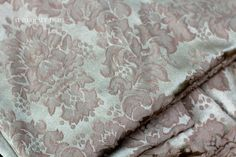 Rectangular 98 Gold Woven Damask Tablecloth. by NorthMajestyTrail