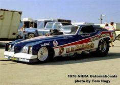 Mickey Thompson's U.S. Marines Pontiac Grand Prix funny car