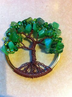 I LOVE this!!  Celtic Tree of Life Wire Art by kennymooney on Etsy, $35.00