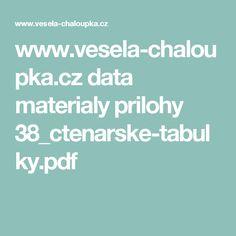 www.vesela-chaloupka.cz data materialy prilohy 38_ctenarske-tabulky.pdf