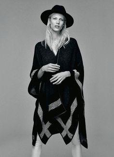 Aymeline Valade by Damon Baker for S Moda August 2014