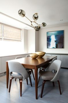 East Side Contemporary contemporary-dining-room
