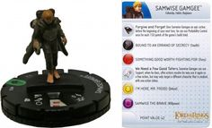 Samwise Gamgee #013 Lord of the Rings Two Towers Heroclix