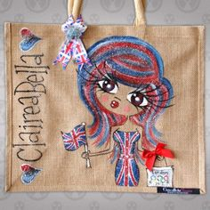 ClaireaBella Olympic Jute Bag at ToxicFox :)