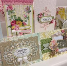 Anna Griffin Cards.