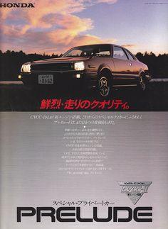 Honda Prelude Mk1 Japan Brochure 1980   by darshan67