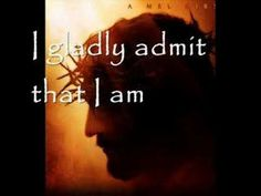 A Crucified Man - Graham Kendrick - ''When I stand at the judgement- I have no other plan- I've placed my hope in a crucified man-  Like the thief nailed beside him- I have no other plan- I've placed my hope in a crucified man''