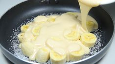 Banana Recipes, Egg Recipes, Cake Recipes, Cooking Recipes, Chocolate Lasagna, Chocolate Brownie Cake, Breakfast Dishes, Breakfast Recipes, Polish Cake Recipe