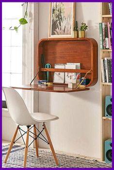 15 Fantastic Small Bedroom Desk Designs For Small Bedroom Ideas : 48 Fantastic Small Bedroom Desk Designs For Small Bedroom Ideas Small Space Bedroom, Small Bedroom Designs, Small Room Design, Small Bedrooms, Design Bedroom, Furniture Styles, Furniture Projects, Furniture Makeover, Furniture Design