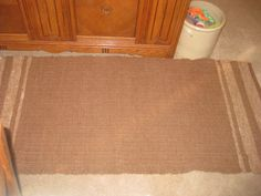 Area Rug Rectangle Brown Fawn Handwoven Natural Handmade Home & Living Alpaca Throw Rug Eco Friendly Renewable Resource Easy Clean USA Made by AlpacaShack on Etsy