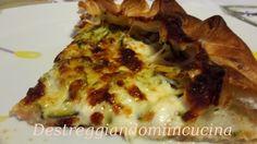Destreggiandomi in cucina: Tortino con cotto e stracchino #prosciuttocotto #stracchino #ham #zucchine #saltycake
