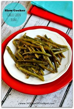 "These slow cooker garlic green beans are flavorful and perfectly seasoned.  My husband thought they were the best thing ever.  A literal quote, ""Those are the best beans I've ever eaten in my life.""  They were still fairly crisp, which is how I prefer them.  This is a simple and easy recipe that can be …"