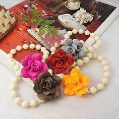 Fashion Handmade Polymer Clay Beads Bracelets