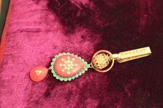 Stylish Kundan work Key ring..