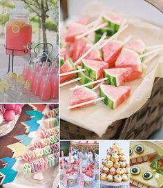 kinder picknick hapjes, picknick feest, meisjes verjaardagsfeest