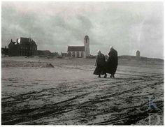 Alfred Stieglitz Zich naar huis haasten, ca. 1894 Rochester (New York), George Eastman House #ZuidHolland #Katwijk