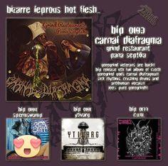 New album 2017 Carnal Diafragma on Bizarre Leprous prod.