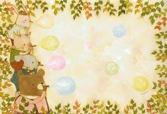 그린벤치 | 정소연 http://jsy122212.blog.me/70128816228 일본 카나가와현 출신의 동화 일러스트레이터 ay...