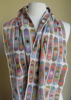 Sophie Digard Eyes  scarf