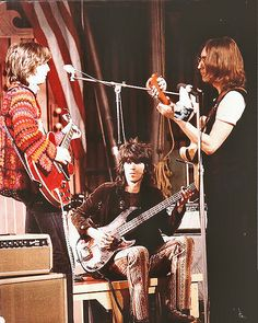 Eric Clapton, Keith Richards and John Lennon jam the Rolling Stones Rock Circus.