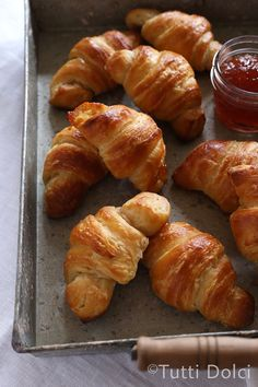 Homemade Croissants {step-by-step} @tuttidolci