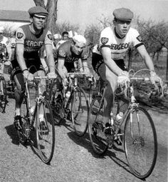 A young Eddy Merckx getting ready for the Tour coming to Yorkshire