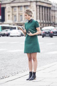 Charlotte Groeneveld after Valentino at Paris Fashion Week   THEFASHIONGUITAR