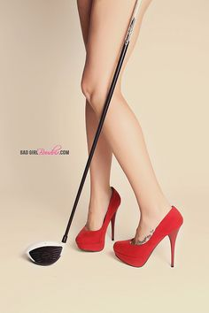Sexy golf boudoir photography for husband or boyfriend by LINDSAY PULLEN design, via Flickr