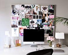 office pinboard :: via Mimi