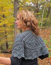 Ravelry: Artemist pattern by Marisa Hernandez - knitting pattern for this beautiful crescent shawl available on Ravelry
