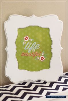 Life is Beautiful {Free printable} 3 colors.