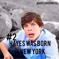 Hayes Grier Fact #2