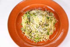 Angel Hair with Bacon, Brussels Sprouts, and Mushrooms by Michael Symon