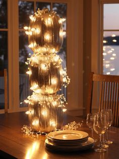 Illuminated Pumpkin Topiary >> http://www.diynetwork.com/decorating/4-ways-to-make-a-pumpkin-topiary/pictures/index.html?soc=pinterest