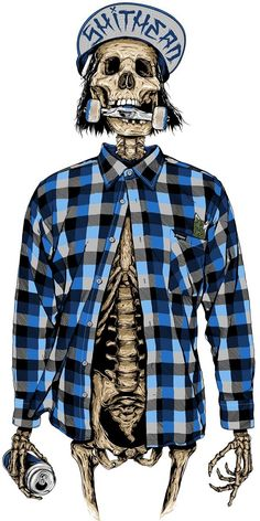 Oh yeah.., the flannels!