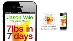 Jason Vale Juice Master App en andere leuke apps voor mijn iPhone