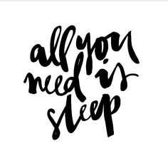 Sleep is so important, and most of us take it for granted. Try and get in that's extra sleep at an earlier time!