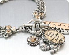Custom Charm Bracelet Children's Names by BlackberryDesigns, $58.00