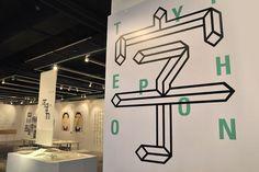Typephoon Typographic exhibition  瘋字節