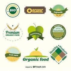 Bio organic badges
