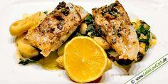 Low Carb Rezept: Seelachsfilet in Salbeibutter aus der Kategorie: Fischgerichte