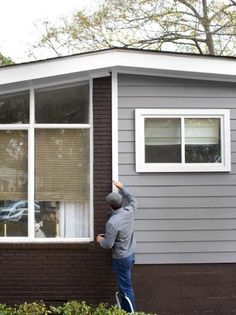 Freshly Painted Home Exterior. Tips for painting houses