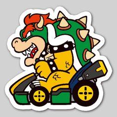 Nintendo Badge Arcade - Bowser