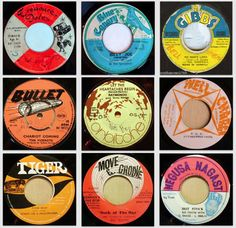 Vintage Record Labels