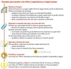 organización TDAH