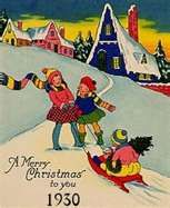 electric christmas lights 1930 1940 the depression years
