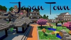 minecraft japanese town - Google Search